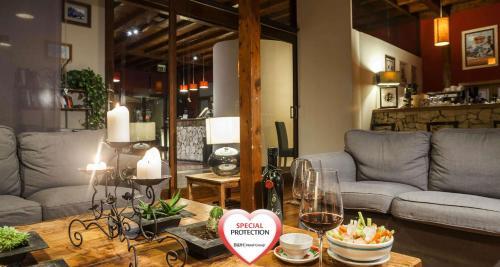 Area soggiorno di Best Western Hotel Santa Caterina