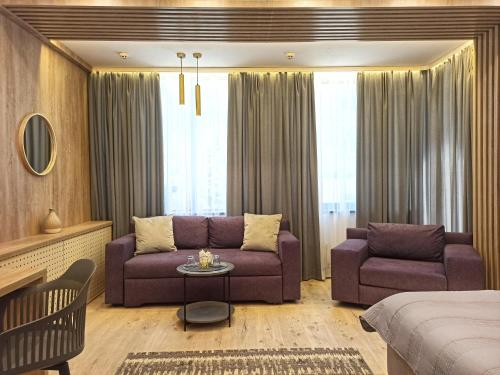 A seating area at Viva Hotel