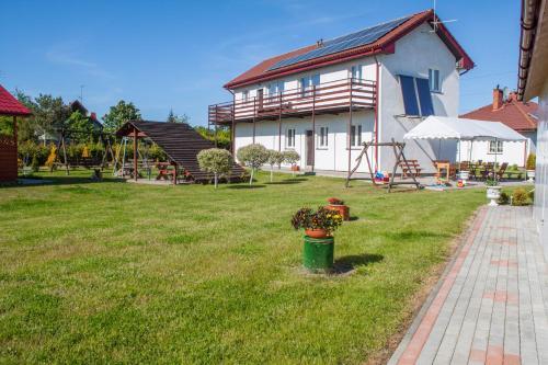 Ogród w obiekcie Ranczo u Ani