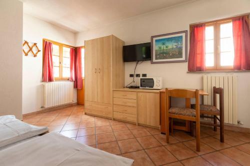Posezení v ubytování Chalet Olta