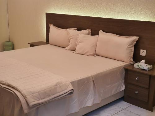 Cama ou camas em um quarto em فيفيندا Vivienda أحلى مكان