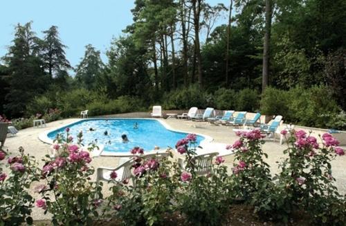 The swimming pool at or near Château De L'aubrière - Les Collectionneurs