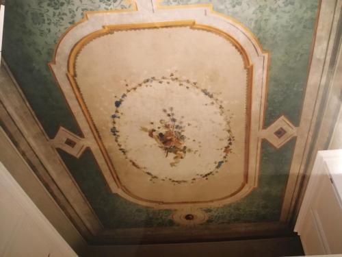 A bathroom at Villa Lavagnino
