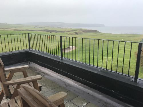 A balcony or terrace at The White House Inn - Whitby