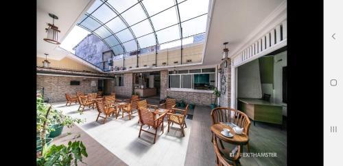 Restaurant ou autre lieu de restauration dans l'établissement Charlton Kandy City Rest