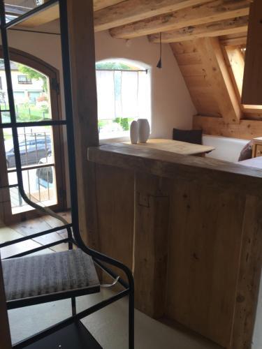 Küche/Küchenzeile in der Unterkunft Burgfräulein