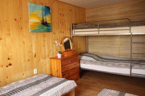 Łóżko lub łóżka w pokoju w obiekcie Ranczo u Ani