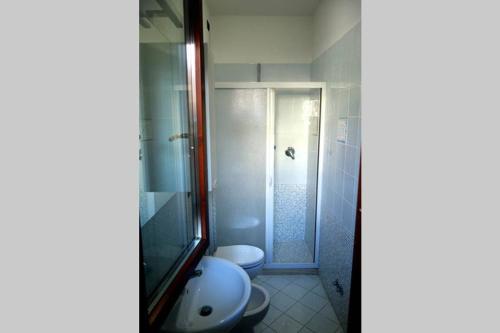 A bathroom at Appartamento Lidarno