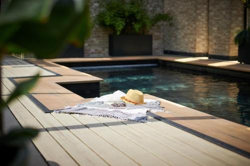 Het zwembad bij of vlak bij Van der Valk Hotel Amsterdam - Amstel