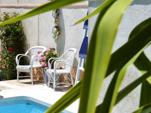 Vista de la piscina de Hotel Rural Sisapo o alrededores