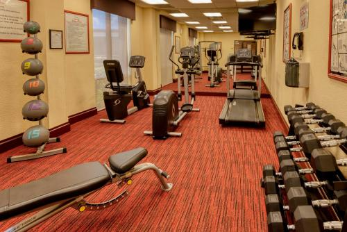 The fitness center and/or fitness facilities at MCM Elegante Hotel and Suites – Dallas