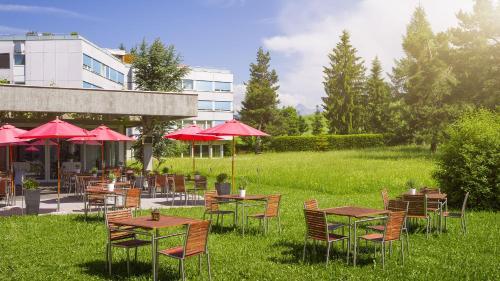 Сад в Hotel Allegro Einsiedeln