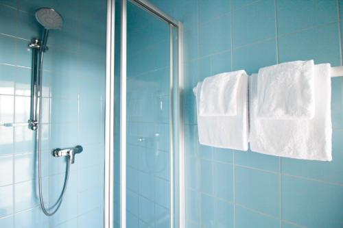 A bathroom at Stanys - Das Apartmenthotel