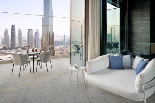 A seating area at Address Sky View