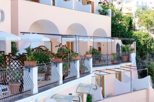 Balcone o terrazza di Hotel Conca d'Oro
