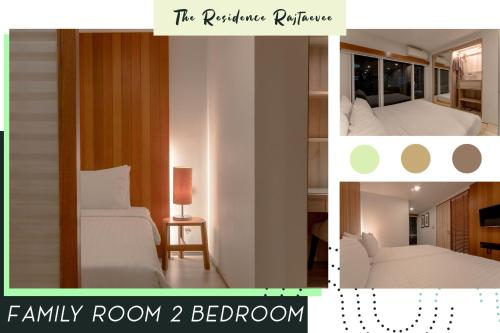 The floor plan of The Residence Rajtaevee Hotel