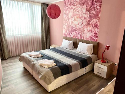 A bed or beds in a room at Modena rooms center of Stara Zagora
