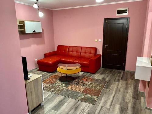 A seating area at Modena rooms center of Stara Zagora