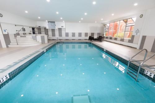 The swimming pool at or near Holiday Inn Express Edmonton Downtown, an IHG Hotel