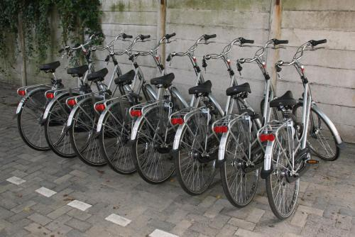 Biking at or in the surroundings of Court Garden Hotel - Ecodesigned