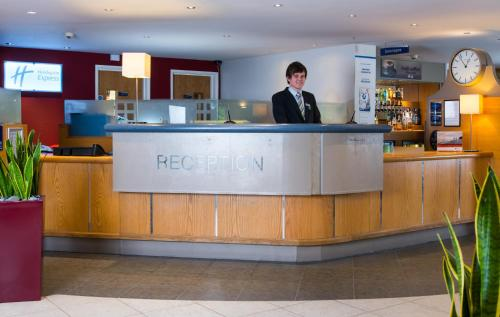 The lobby or reception area at Holiday Inn Express Inverness, an IHG Hotel
