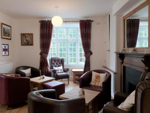 A seating area at Penbont House