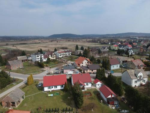 Widok z lotu ptaka na obiekt Apartamenty Nad Wisłą