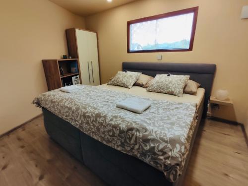 Posteľ alebo postele v izbe v ubytovaní Grand Spa Holiday Home II