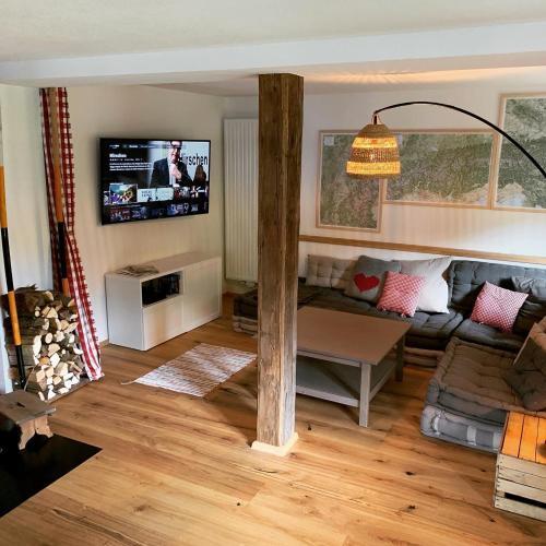 TV/Unterhaltungsangebot in der Unterkunft Villgratenhaus