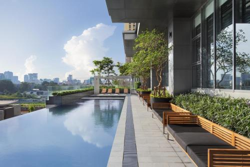 The swimming pool at or near CASA Meridian Residence