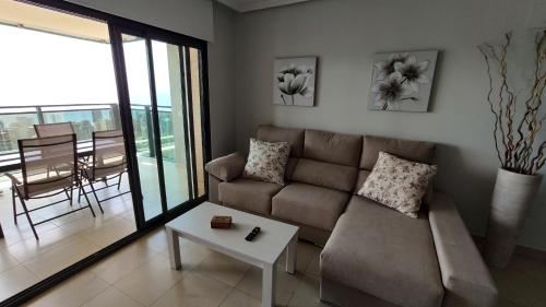 Zona de estar de Lux Apartment - Floor 35