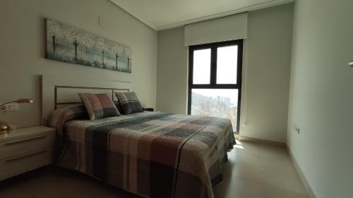 Cama o camas de una habitación en Lux Apartment - Floor 35