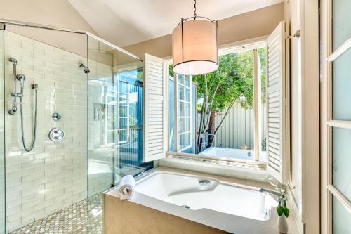 A bathroom at Carneros Resort and Spa