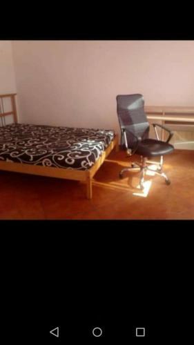 Televízia a/alebo spoločenská miestnosť v ubytovaní Apartment-rooms in Košice centre