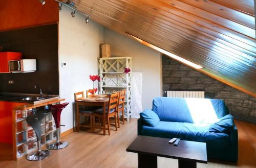Zona de estar de Apartamentos Rurales Altuzarra