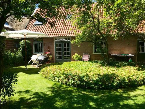 A garden outside De Windroos | Atelier Aan Zee