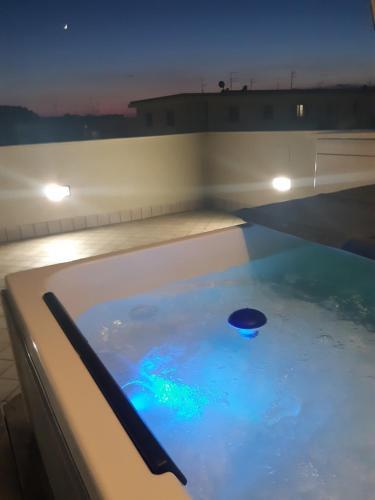 The swimming pool at or near Porto Di Claudio