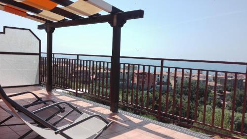A balcony or terrace at Casa Vacanza Orizzonte