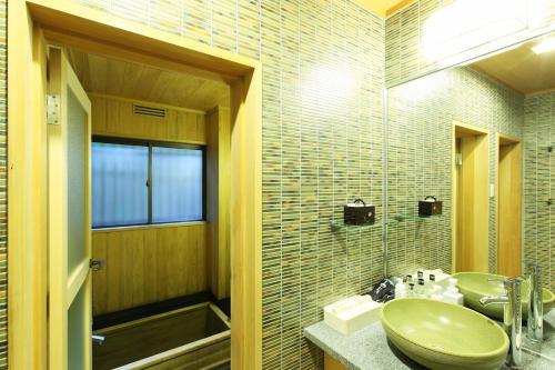 A bathroom at Gion Hatanaka