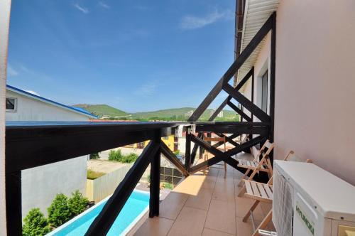 Балкон или терраса в Гостевой дом Бретань