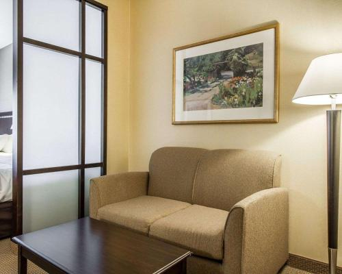 A seating area at Comfort Suites