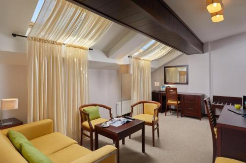 Гостиная зона в Отель Графский