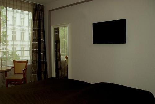 TV/Unterhaltungsangebot in der Unterkunft Pension Levi