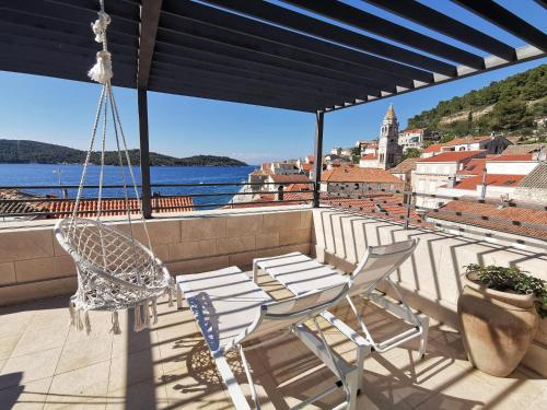 A balcony or terrace at Hotel San Giorgio