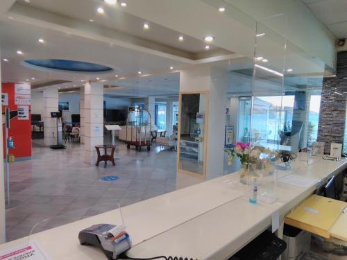 Εστιατόριο ή άλλο μέρος για φαγητό στο New Aegli Resort Hotel
