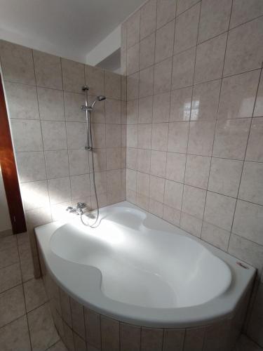 Koupelna v ubytování Apartmán u Lesíku v rodinném domě