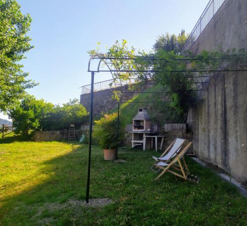 Kebun di luar Camere e Appartamenti Baldini Romanita
