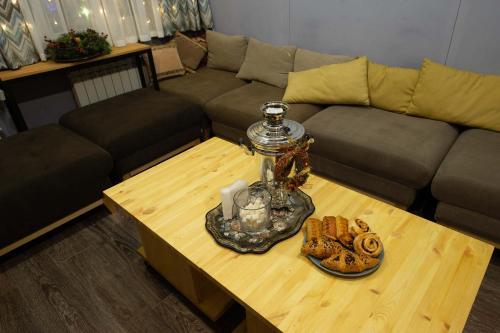 Гостиная зона в Ель Хостел и Кофейня