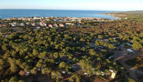 Vista aerea di Villaggio Camping Nurral