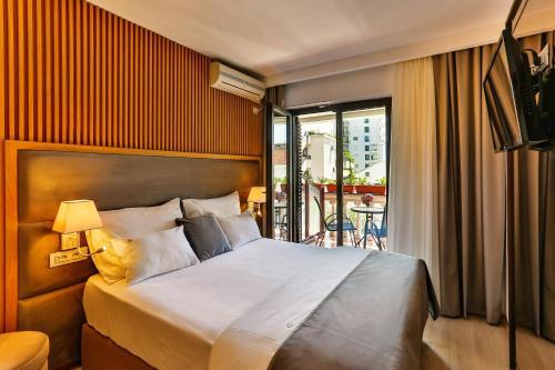 Voodi või voodid majutusasutuse Villa Dvor Kornic toas